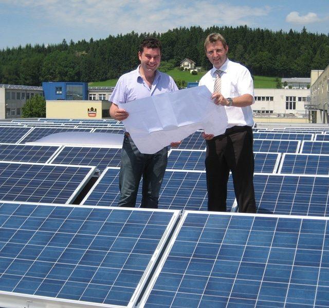 Gewerbe mit Photovoltaik