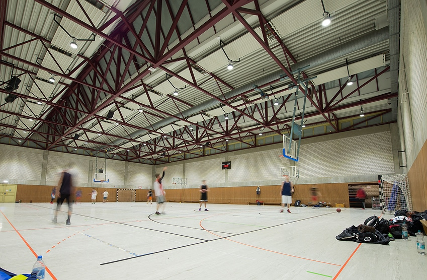 TSV Bayer 04 Leverkusen, Basketball- und Mehrzweckhalle