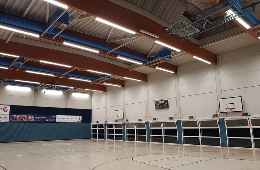 TSV Bayer Dormagen - Fecht- und Basketballhalle